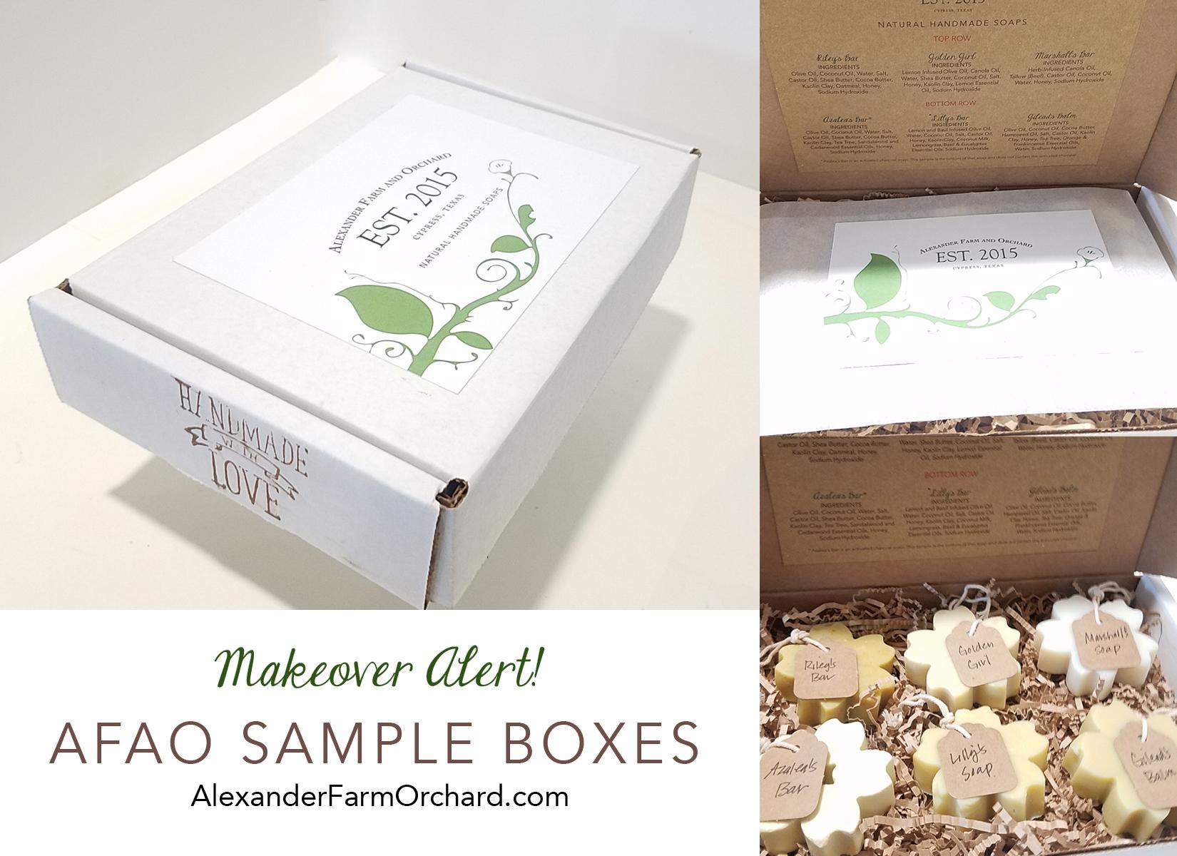 makeover sample box